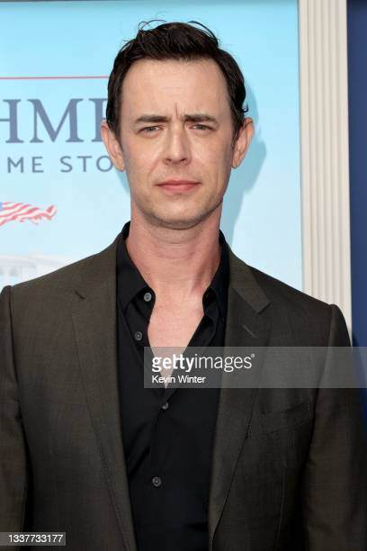 """Colin Hanks attends the premiere of FX's """"Impeachment: American Crime Story"""" atat Pacific Design Center on September 01, 2021 in West Hollywood,..."""
