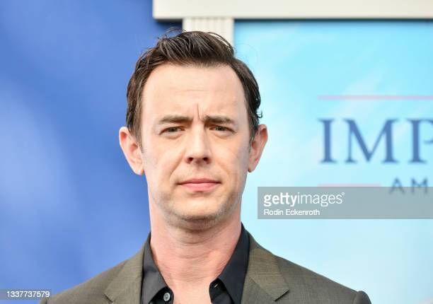"""Colin Hanks attends the premiere of FX's """"Impeachment: American Crime Story"""" at Pacific Design Center on September 01, 2021 in West Hollywood,..."""