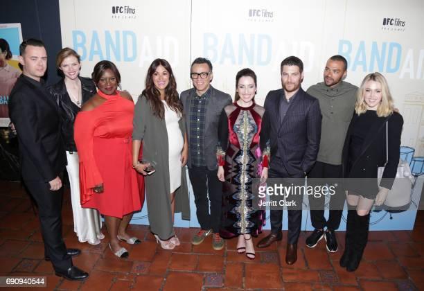 Colin Hanks Brooklyn Decker Retta Angelique Cabral Fred Armisen Zoe ListerJones Adam Pally Jesse Williams and Majandra Delfino attend the Premiere Of...