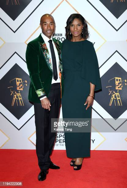 Colin Jackson and Denise Lewis attend the BBC Sport Personality of the Year 2019 at PJ Live Arena on December 15 2019 in Aberdeen Scotland