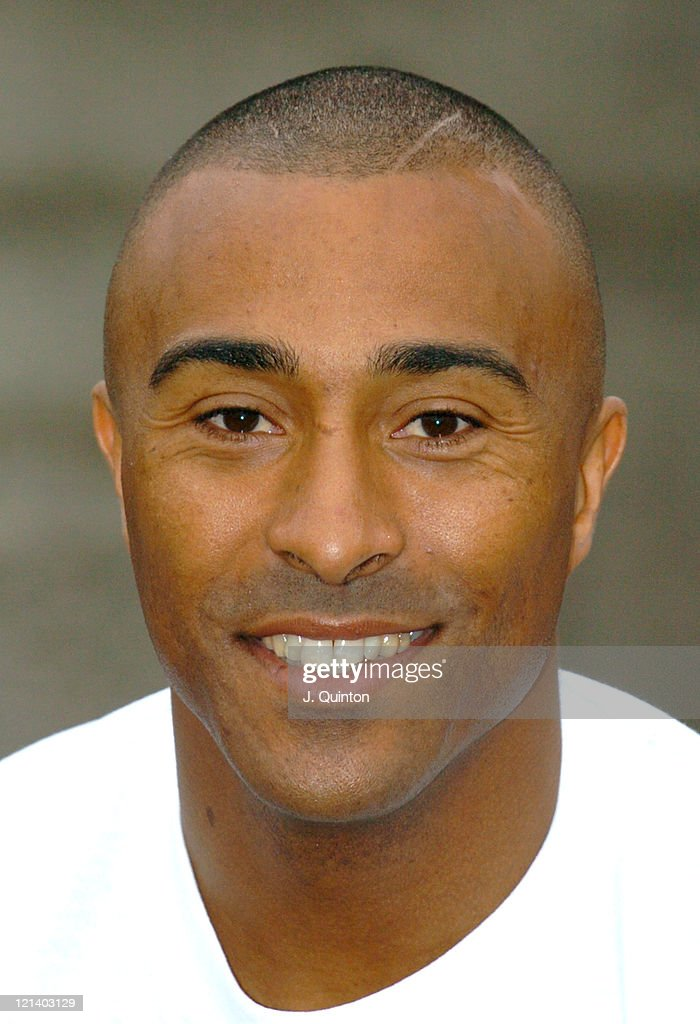 Colin Jackson during Olympic Heroes Launch 'Olympic Gold Scratchcard' at Trafalgar Square in London, Great Britain.