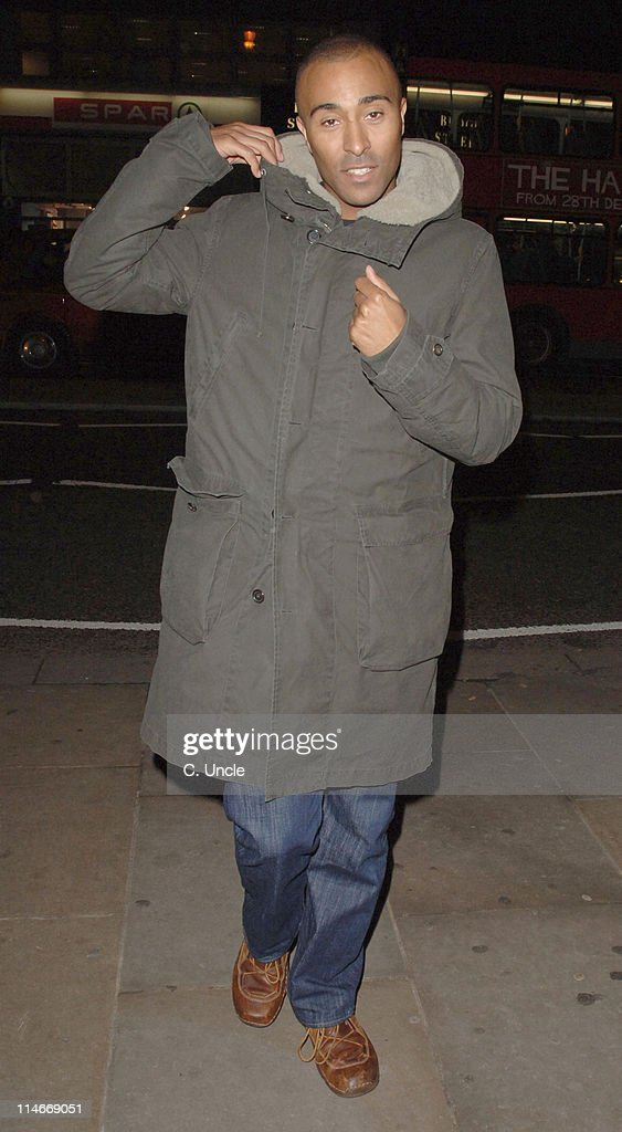 Colin Jackson during UNICEF Charity Event for Children in Africa with AIDS - January 9, 2006 at Coutts, The Strand in London, Great Britain.