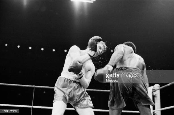 Colin Jones v Kirkland Laing for the British Welterweight Title, Commonwealth Welterweight Title. Jones won by TKO in round nine. Jones and Laing...