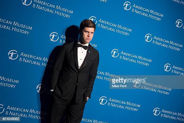 Colin Jost attends the 2016 American Museum Of Natural History Museum Gala at American Museum of Natural History on November 17 2016 in New York City