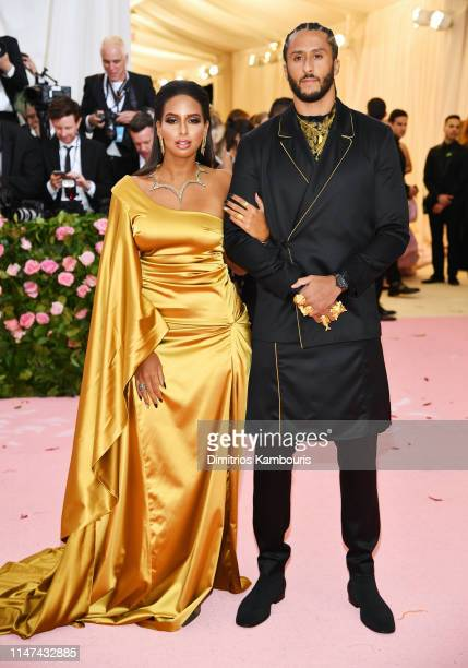 Colin Kaepernick and Nessa attend The 2019 Met Gala Celebrating Camp Notes on Fashion at Metropolitan Museum of Art on May 06 2019 in New York City