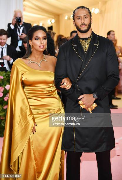Colin Kaepernick and Nessa attend The 2019 Met Gala Celebrating Camp: Notes on Fashion at Metropolitan Museum of Art on May 06, 2019 in New York City.