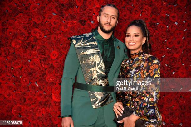 Colin Kaepernick and Nessa attend Tyler Perry Studios grand opening gala at Tyler Perry Studios on October 05 2019 in Atlanta Georgia