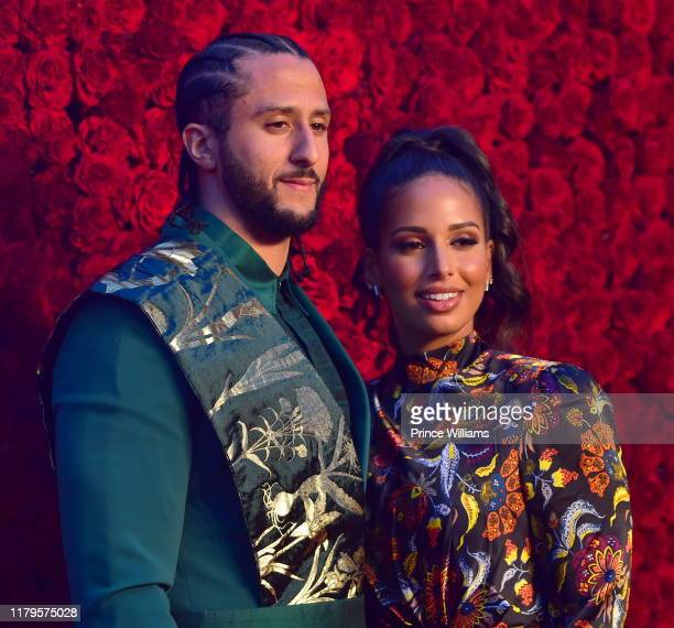 Colin Kaepernick and Nessa Diab attend Tyler Perry Studios Grand Opening Gala - Arrivals at Tyler Perry Studios on October 5, 2019 in Atlanta,...