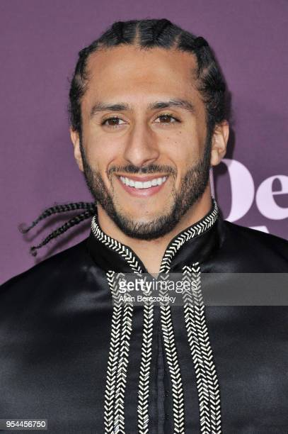 Colin Kaepernick attends VH1's 3rd Annual 'Dear Mama A Love Letter To Moms' at The Theatre at Ace Hotel on May 3 2018 in Los Angeles California
