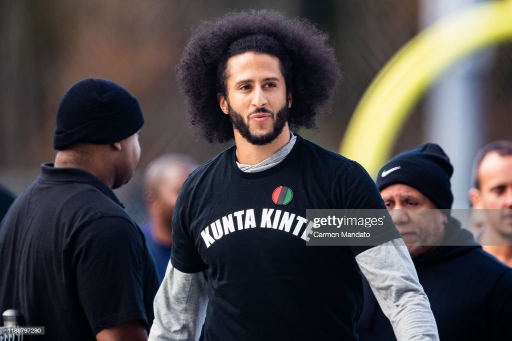 Colin Kaepernick NFL Workout : News Photo