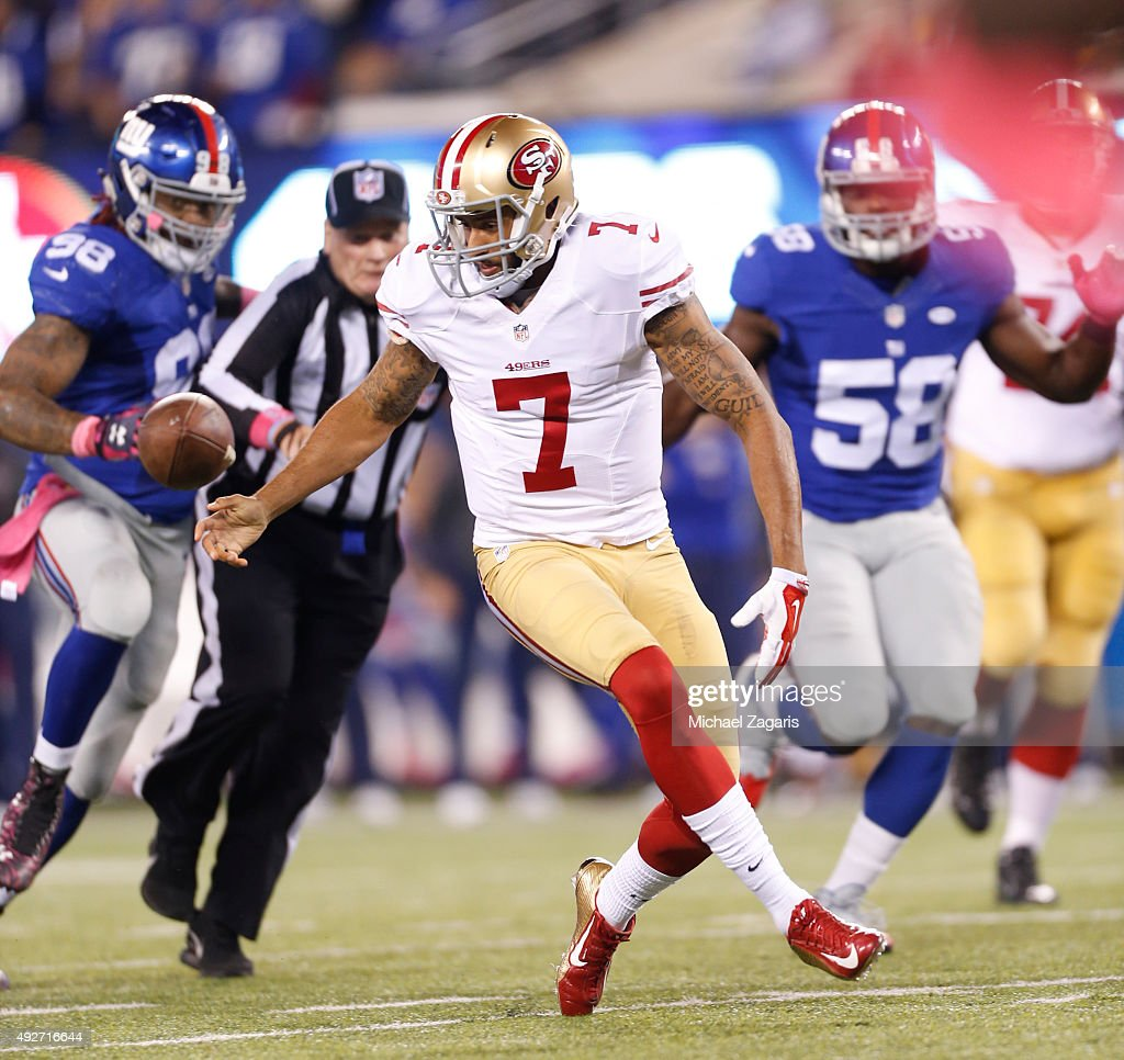 San Francisco 49ers v New York Giants : News Photo