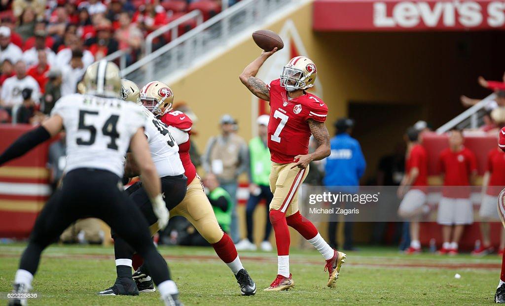 New Orleans Saints v San Francisco 49ers : Nachrichtenfoto