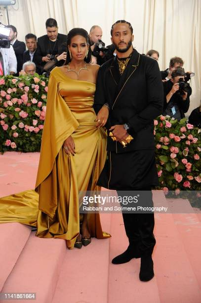 Colin Kapernick and Nessa attends The 2019 Met Gala Celebrating Camp Notes On Fashion Arrivalsat The Metropolitan Museum of Art on May 6 2019 in New...