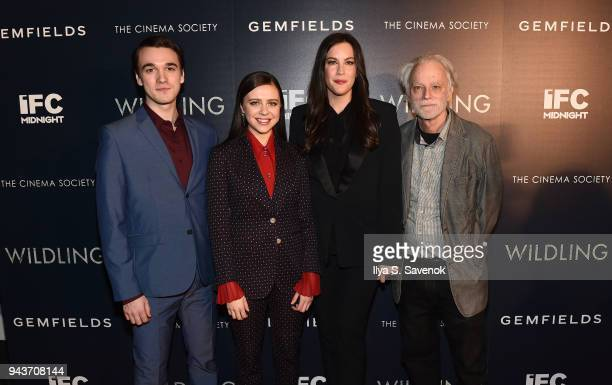 Colin KellySordelet Bell Powley Liv Tyler and Brad Dourif attend 'Wildling' New York Screening at iPic Theater on April 8 2018 in New York City