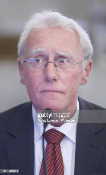 Colin MacAulay QC during the inquiry into Clostridium difficile deaths at the Vale of Leven Hospitalin Alexandria West Dunbartonshire last year as it...