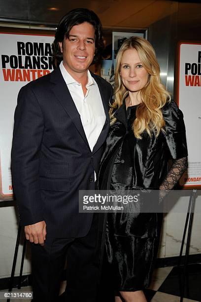 Colin McCabe and Rebekah McCabe attend HBO Documentary Films' New York Premiere of ROMAN POLANSKI Wanted and Desired at The Paris Theater on May 6...