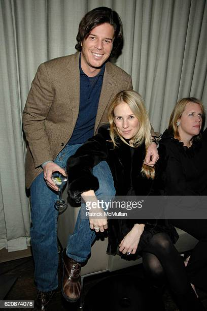 Colin McCabe and Rebekah McCabe attend THE CINEMA SOCIETY and W host the after party for Sundance Channel's MARC JACOBS LOUIS VUITTON at Mercer Hotel...