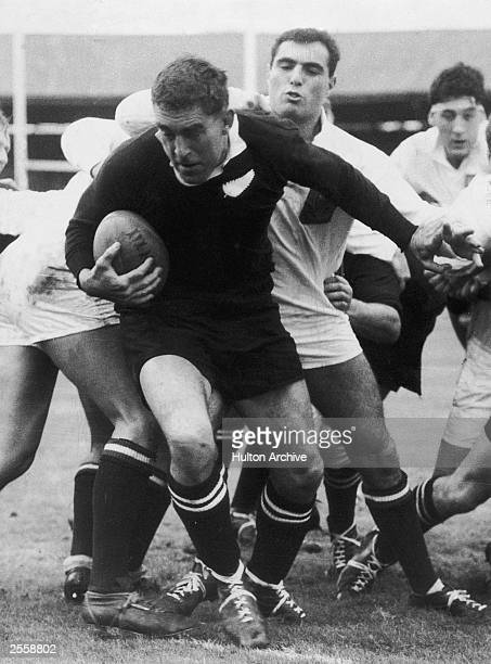 Colin Meads of the New Zealand All Blacks in action 26th October 1967