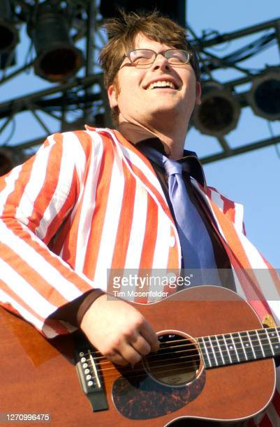Colin Meloy of The Decemberists performs during day three of the Austin City Limits Music Festival at Zilker Park on September 24, 2005 in Austin,...