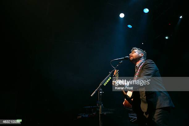 Colin Meloy performs on stage at Vicar Street on February 11 2015 in Dublin Ireland
