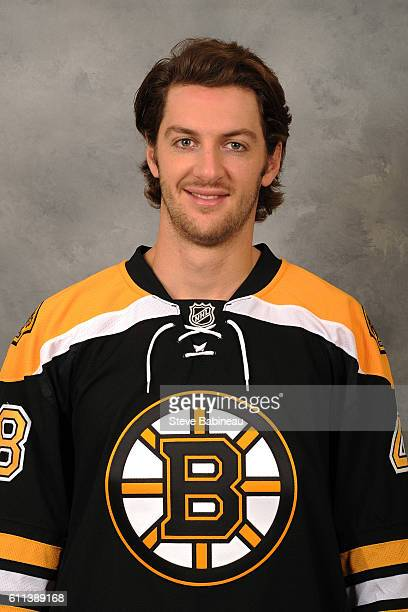 Colin Miller of the Boston Bruins poses for his official headshot for the 20162017 season on September 23 2016 in Watertown Massachusetts