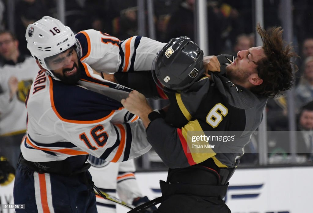 Edmonton Oilers v Vegas Golden Knights : News Photo
