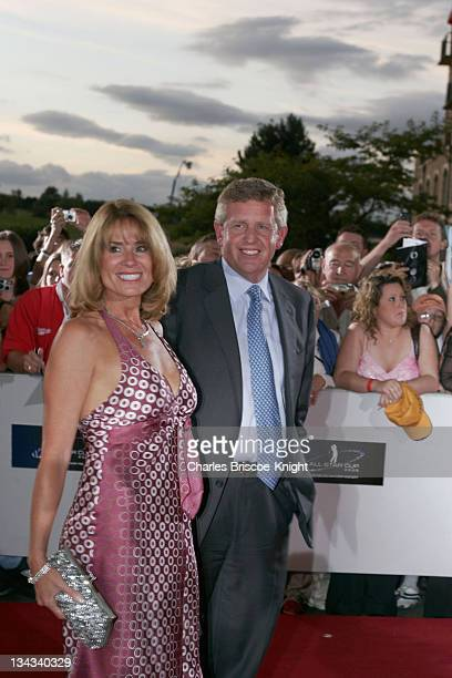 Colin Montgomerie arrives at the All*Star Cup Gala Celtic Manor Roman Road Course Newport Wales