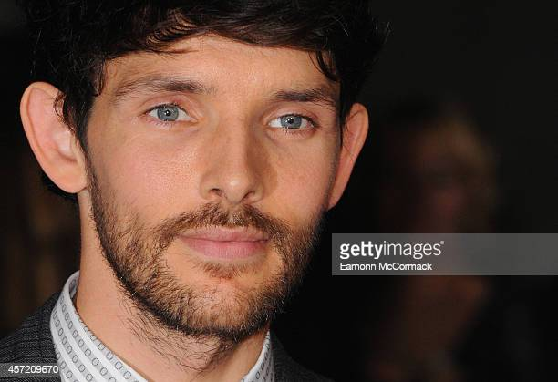 Colin Morgan attends a screening of 'Testament of Youth' during the 58th BFI London Film Festival at Odeon Leicester Square on October 14 2014 in...