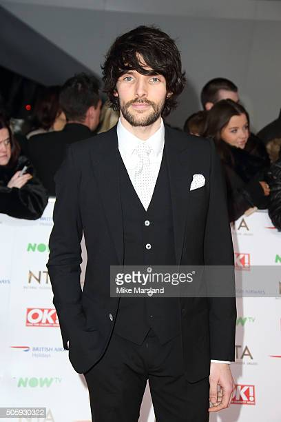 Colin Morgan attends the 21st National Television Awards at The O2 Arena on January 20 2016 in London England