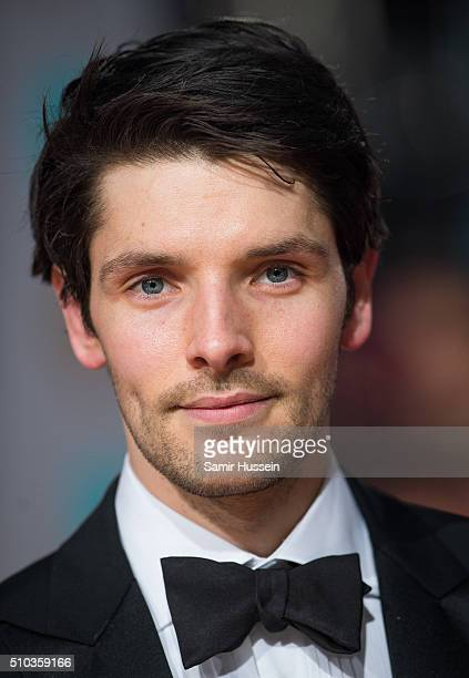 Colin Morgan attends the EE British Academy Film Awards at The Royal Opera House on February 14 2016 in London England