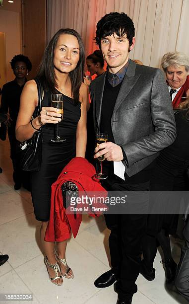 Colin Morgan attends the English National Ballet Christmas Party at St Martins Lane Hotel on December 13 2012 in London England