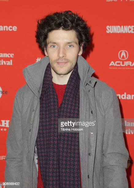 Colin Morgan attends 'The Happy Prince' Premiere during Sundance Film Festival at Eccles Center Theatre on January 21 2018 in Park City Utah