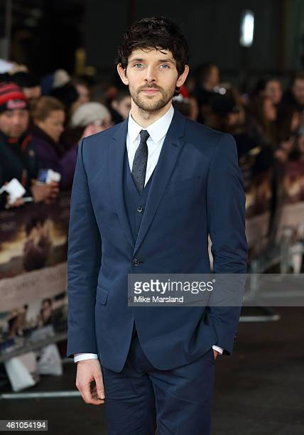 Colin Morgan attends the UK Premiere of 'Testament of Youth' at Empire Leicester Square on January 5 2015 in London England