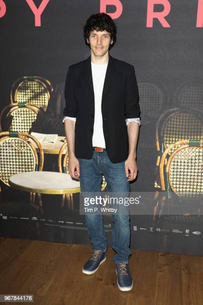 Colin Morgan attends the UK premiere of 'The Happy Prince' at Vue West End on June 5 2018 in London England