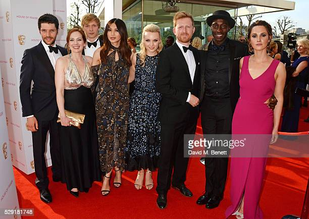 Colin Morgan Katherine Parkinson Will Tudor Gemma Chan Emily Berrington Tom Goodman Hill Ivanno Jeremiah and Ruth Bradley attend the House Of Fraser...