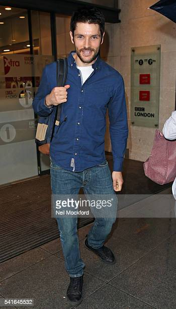 Colin Morgan seen at BBC Radio One on June 20 2016 in London England