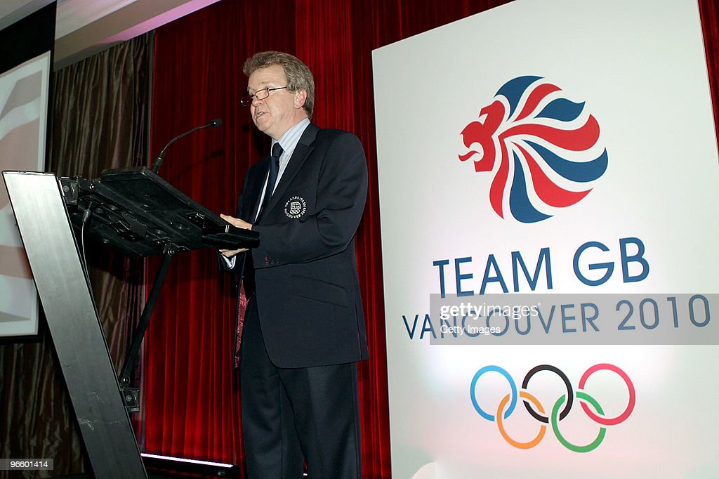 Colin Moynihan, Chairman of the British Olympic Association speaks, during the Great Britain Winter Olympics Welcome Night at the Terminal City Club ahead of the Vancouver 2010 Winter Olympics on February 11, 2010 in Vancouver, Canada.