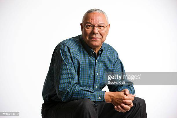 Colin Powell at his home in Virginia. Powell is an American statesman and a retired four-star general in the United States Army. He was the 65th...