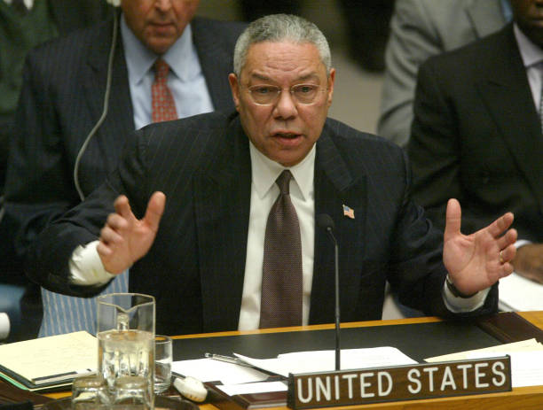 UNS: File: Colin Powell, Army General Turned Top Diplomat, Dies at 84