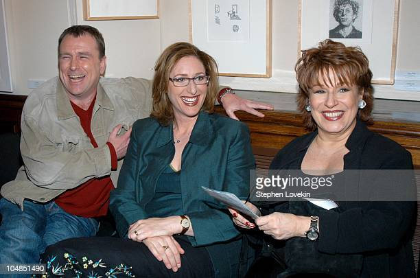 Colin Quinn Judy Gold and Joy Behar during Comedy Tonight A Night of Comedy to Benefit the 92nd Street Y at The 92nd Street Y in New York City NY...