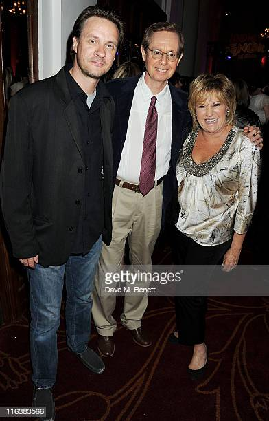 Colin R Freeman choreographer Randy Skinner and Lorna Luft attend an after party following press night of Lend Me A Tenor The Musical at 8...