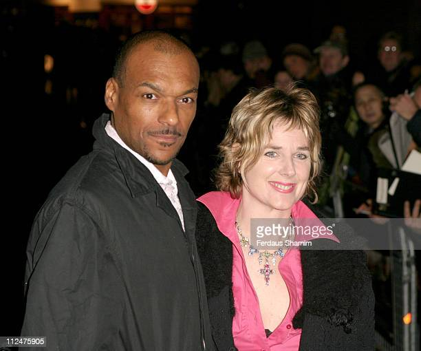 Colin Salmon and guest during 'Hotel Rwanda' London Premiere at Vue West End in London Great Britain