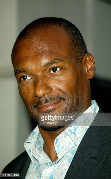 Colin Salmon during 2005 GQ Men of the Year Awards Outside Arrivals at Royal Opera House in London Great Britain