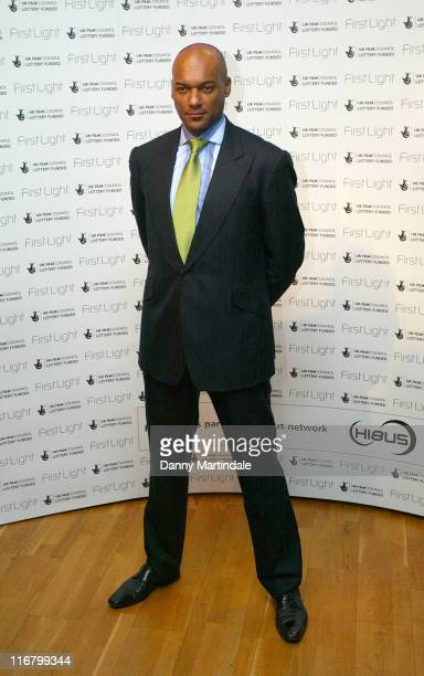 Colin Salmon during First Light Movies Awards 2007 Photocall at Odeon West End in London Great Britain