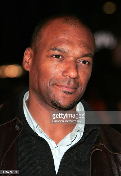 Colin Salmon during 'Flushed Away' London Premiere Outside Arrivals at Empire Leicester Square in London Great Britain