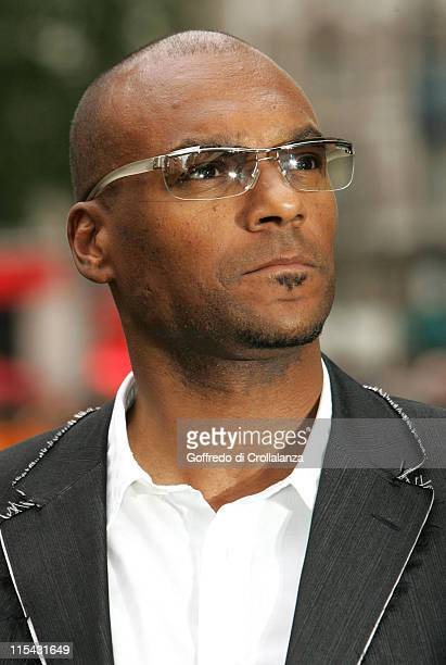 Colin Salmon during 'Over the Hedge' London Premiere Outside Arrivals at Empire Leicester Square in London Great Britain