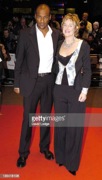 Colin Salmon during The Times BFI 50th London Film Festival UK Film Premiere of 'Breaking and Entering' at Odeon West End in London Great Britain