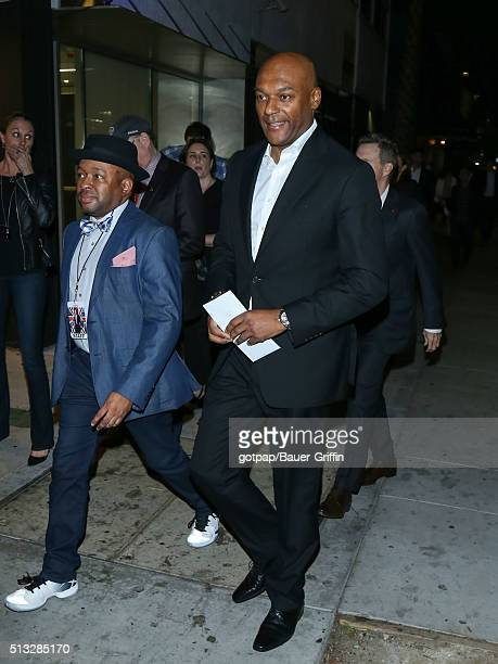 Colin Salmon is seen on March 01 2016 in Los Angeles California