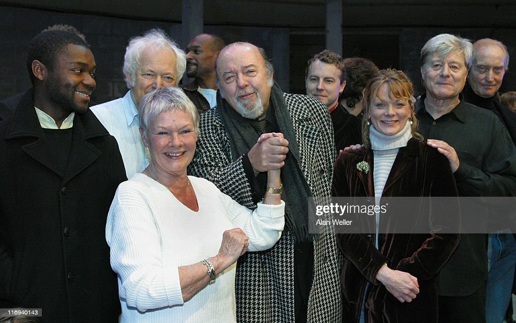 Colin Salmon, Michael Pennington, Judi Dench, Sir Peter Hall, Samantha Bond, Martin Jarvis and Charles Dance