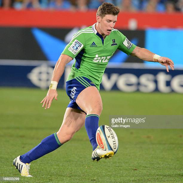 Colin Slade of Highlanders during the Super Rugby match between Vodacom Bulls and Highlanders from Loftus Versfeld on May 18 2013 in Pretoria South...